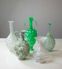 Barbara Lubliner Upcycled plastic from discarded bottles