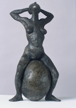 Barbara Lubliner Stone Figures cement