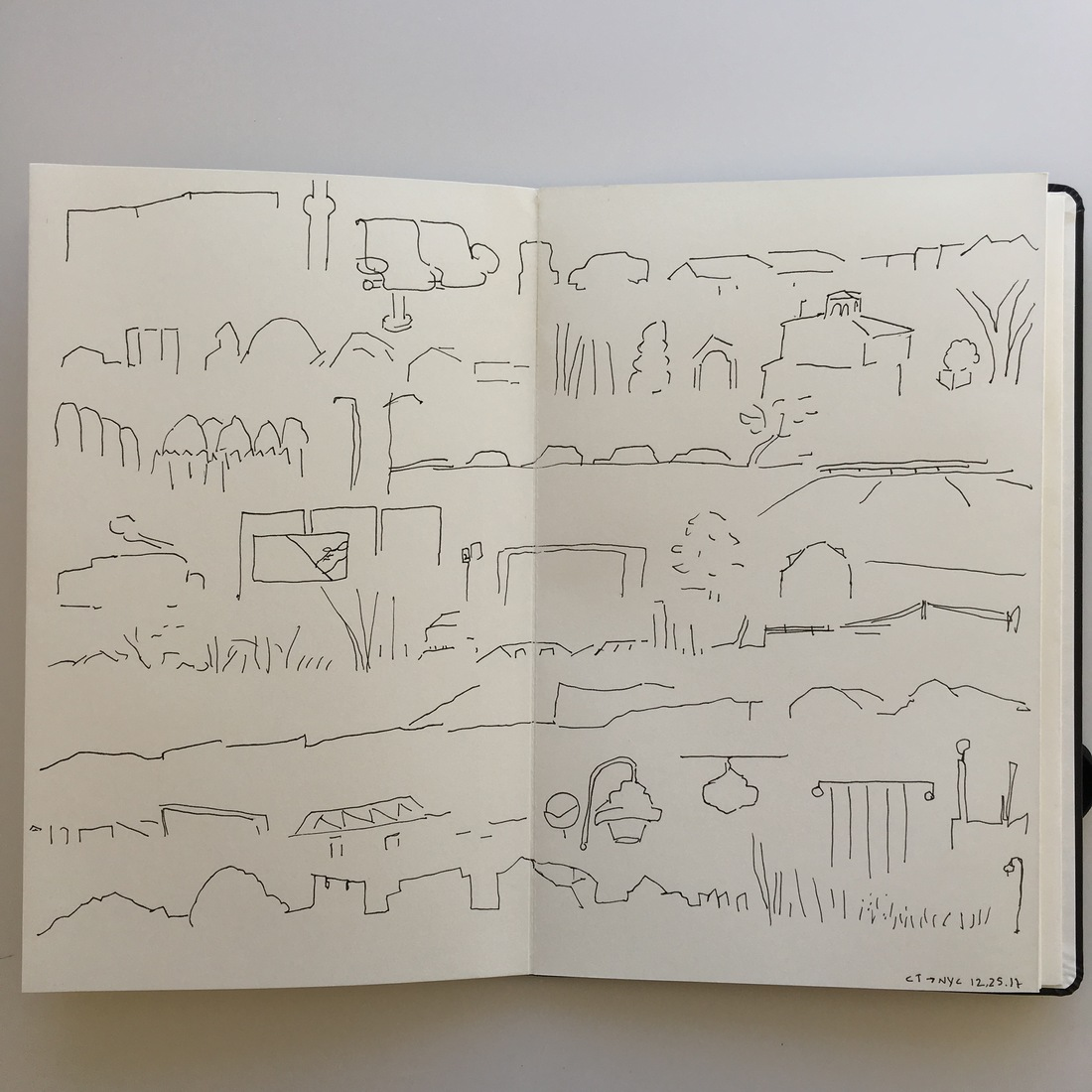 Drawings—here, there, & everywhere (a slideshow)