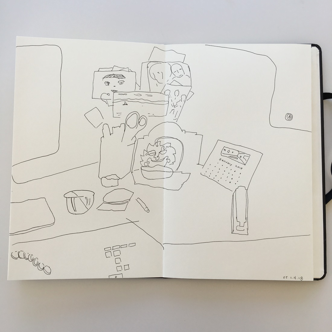 Drawings—Here, There, and Everywhere (a slideshow)