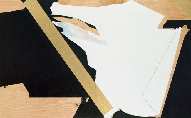 BART GULLEY Show: From Image to Object: Painting to Collage oil and encaustic on birch-ply