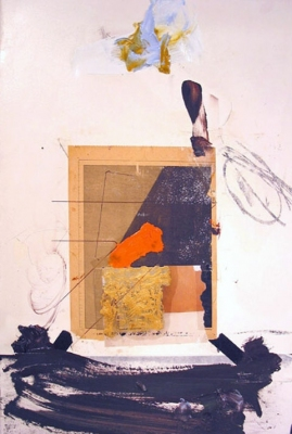 BART GULLEY All paintings Oil, encaustic, newspaper and tape on birch-ply