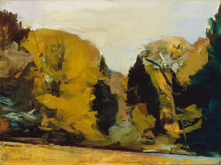 BART GULLEY Landscape Oil on canvas