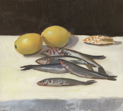 Charles Basman  Still Life Oil on linen