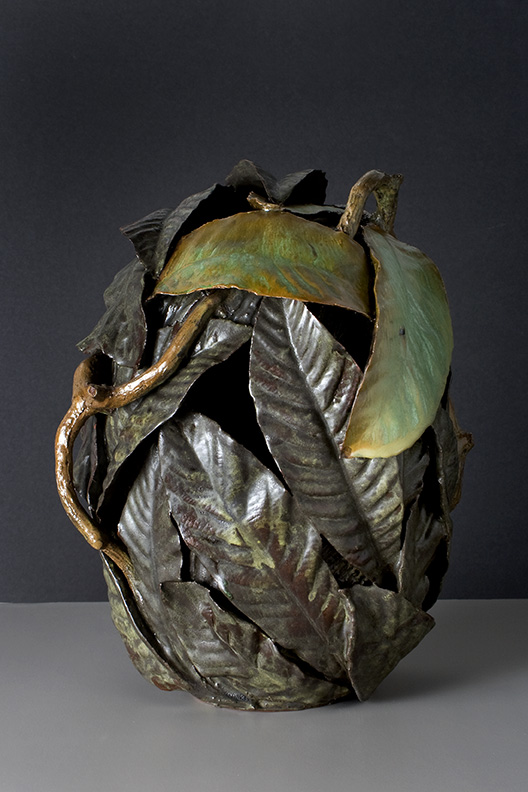 Ben Anderson Sculptural Ceramic Glazed terracotta