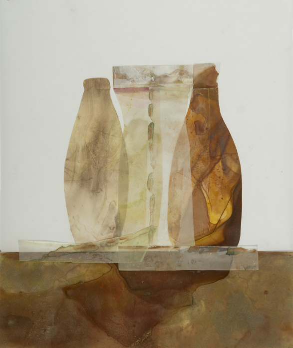 Beth Haber Vessels acrylic on mylar