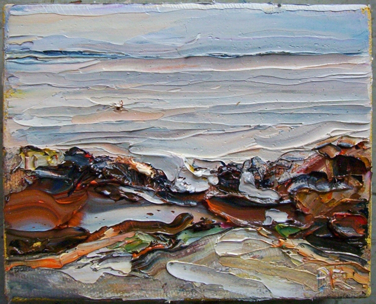 The Sea and Aggregate Abstractions Calm Before The Storm (Cape Ann)