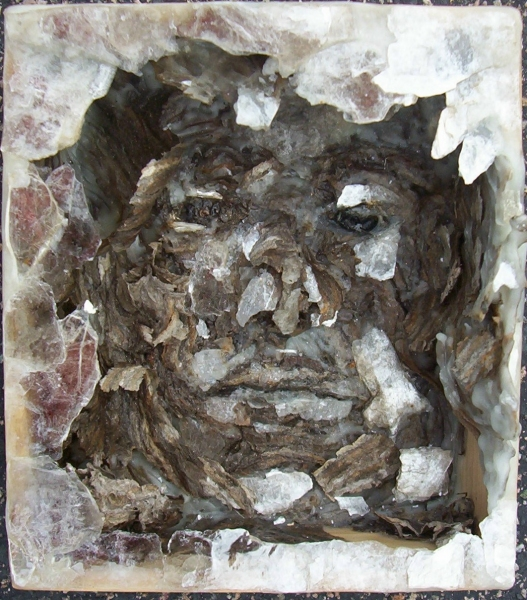 3D / Encaustic / Collage / Assemblage Mask