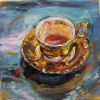 Items and Icons oil on linen