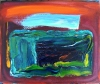 Abstracted Visions oil on canvas box