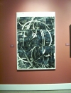 Gallery Installations oil and encaustic