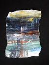 Big Sky Studio Works, and Plein Air Abstractions encaustic on torn paper