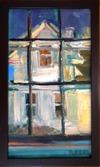City / Windows oil on linen