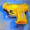 Water Pistols and Cap Guns oil on canvas