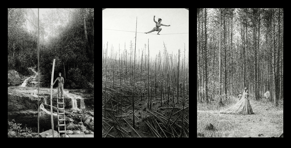 CLEARCUT - Paris, NYC, Seattle Woodland Madrigal Triptych