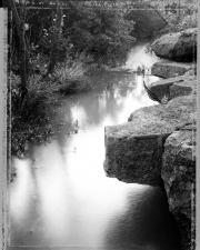Bill Kennedy Gallery: Little Barton Creek Archival inkjet print on BFK Rives paper