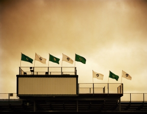 Bill Kennedy Gallery: High School Football- A Community Portrait Archival inkjet print.