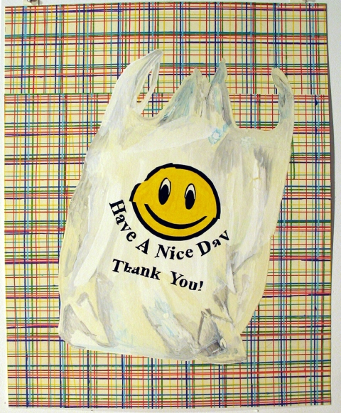 Bag Drawings Have a nice day bag