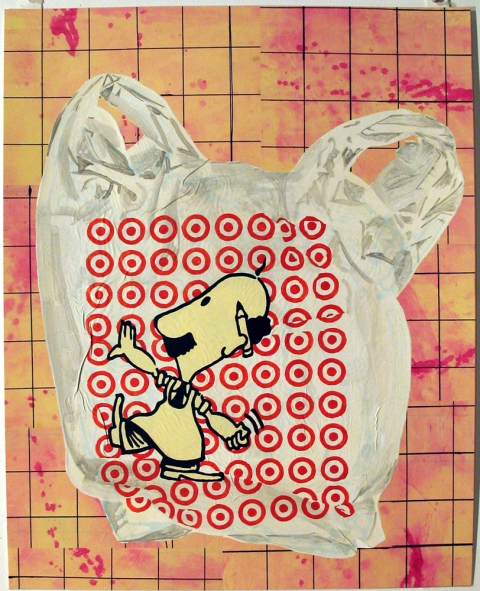 Bag Drawings Target Bag
