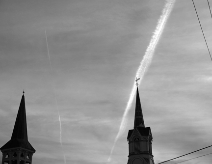 Photographs Two Steeples