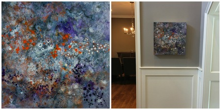 Bluestone Fine Art Gallery Deidre ADAMS Acrylic on Gessobord