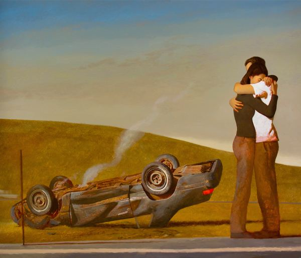 BO BARTLETT    MANIFEST DESTINY  Oil on Linen