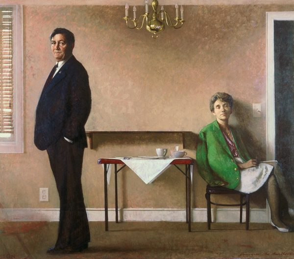 BO BARTLETT    EARLY  Oil on Linen