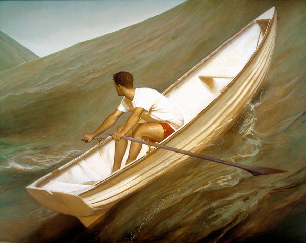 BO BARTLETT    WATER SERIES  Oil on Linen
