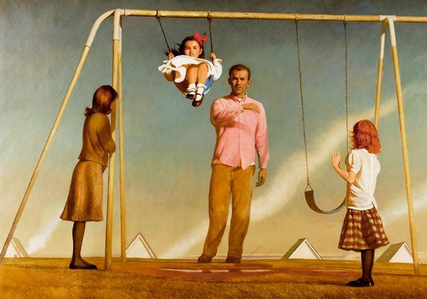 BO BARTLETT    THE NEW WORLD  Oil on Linen