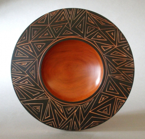 COLLECTION Carved Bowl Platter