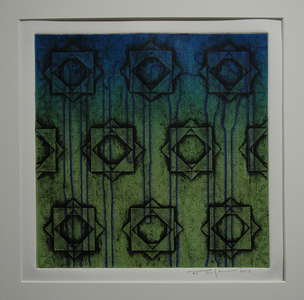 Bob Langnas Prints (General) collagraph, etching, ImagOn, rainbow roll