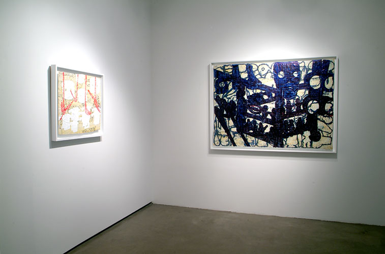 "Installation View: ""Bo Joseph: Archetypes and Anomalies,"" 2007"