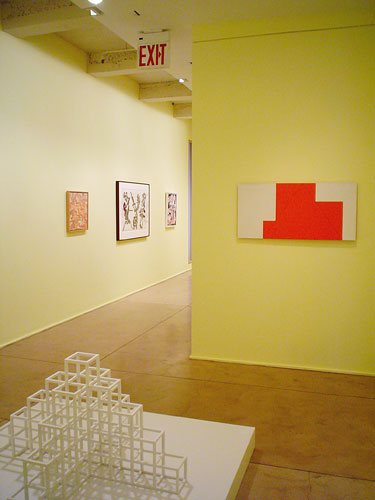 "Installation View: ""Under the Influence,"" Barbara Mathes Gallery, 2004"
