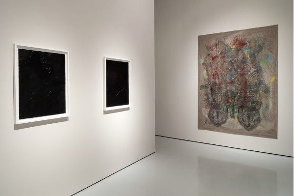 "Installation View: ""Portal,"" McClain Gallery, 2013"