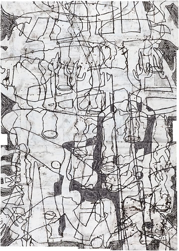 Works on Paper, 2011-2012 Delusions of a Patriarch