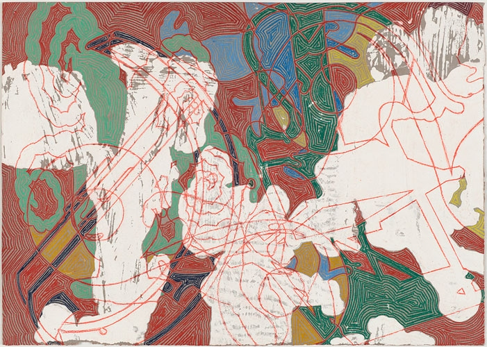 Works on Paper, 2011-2012 Hic Sunt Dracones