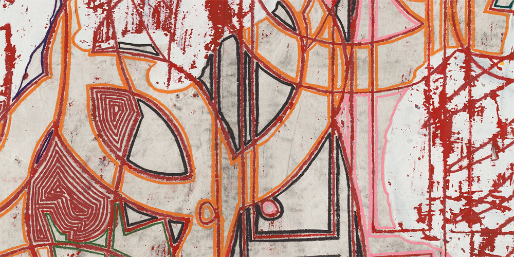 Recent Works on Paper, 2013-2015 DETAIL: Pangaea: Terra Ignota