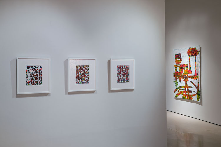"Bo Joseph: Empire of Spoils, 2012 Installation View: ""Bo Joseph: Empire of Spoils,"" McClain Gallery, 2012 (© Nash Baker)"