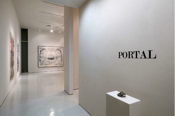 "Portal, 2013 Installation View: ""Portal,"" McClain Gallery, 2013"