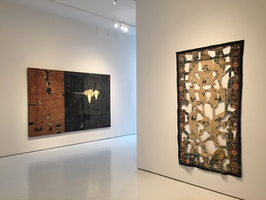 Installation view of Derivative 1, McClain Gallery, Houston