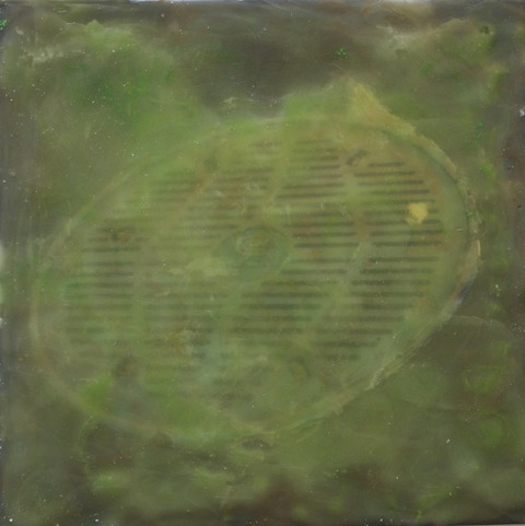 Encaustics  Effluence 2