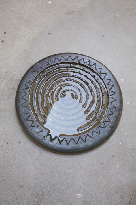 Cast Wax Russian Manhole