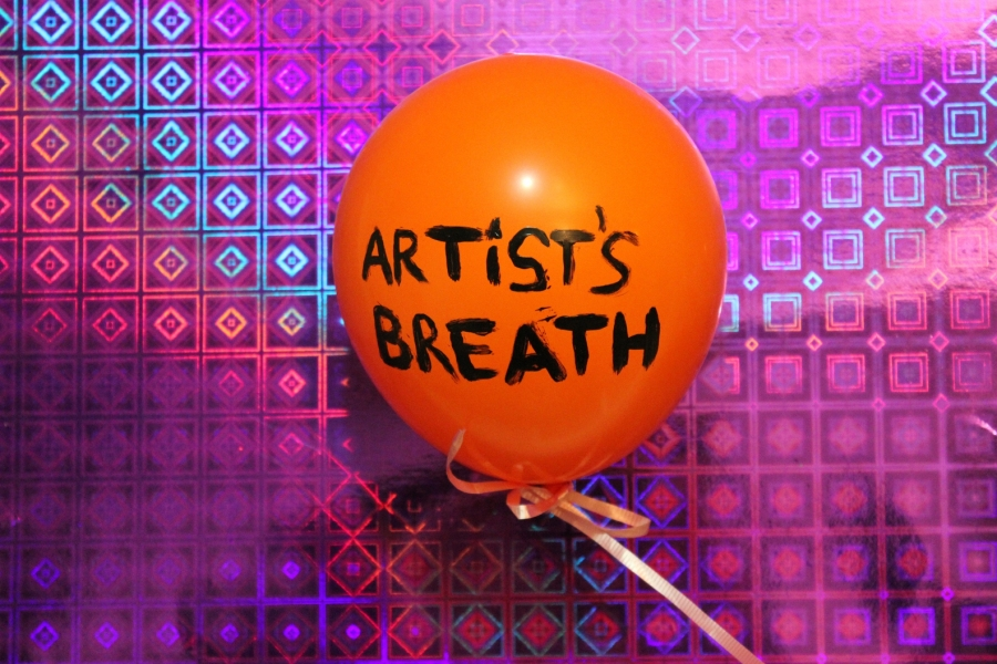 "HAPPY ART HISTORY!  ""ARTIST'S BREATH."""