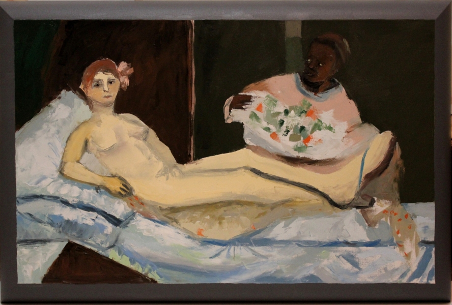 "HAPPY ART HISTORY!  ""FAKE MANET""."