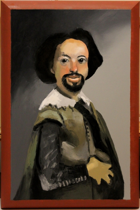 "HAPPY ART HISTORY!  ""FAKE VELASQUEZ""."