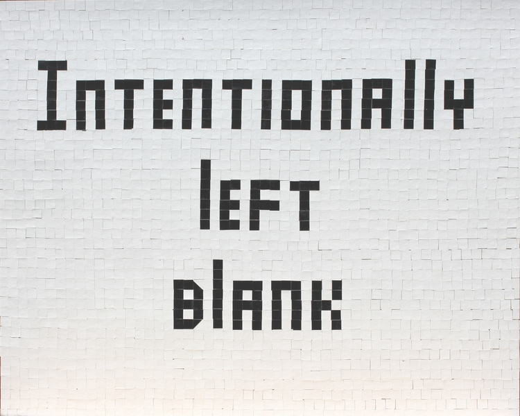 "I  SURVIVED INFORMATION "" INTENTIONALLY LEFT BLANK ""."