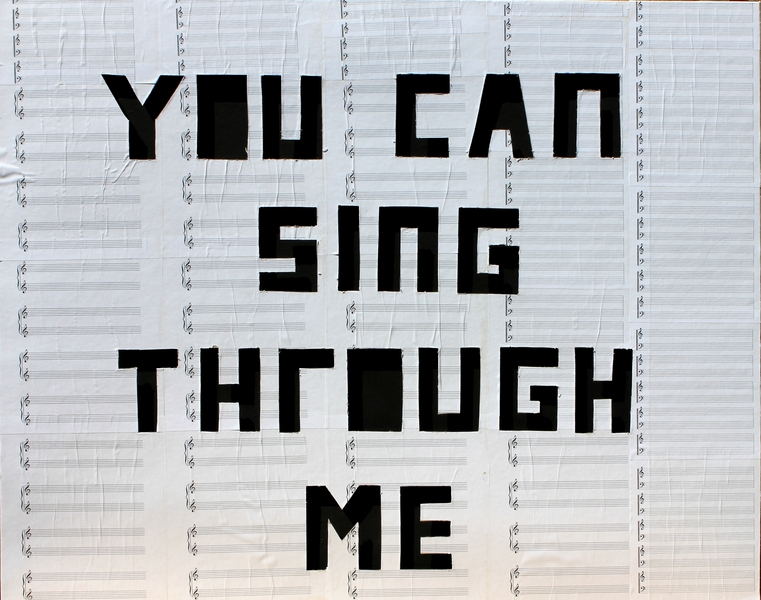 "I  SURVIVED INFORMATION "" YOU CAN SING THROUGH ME ""."