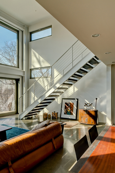 Stairs River House 2