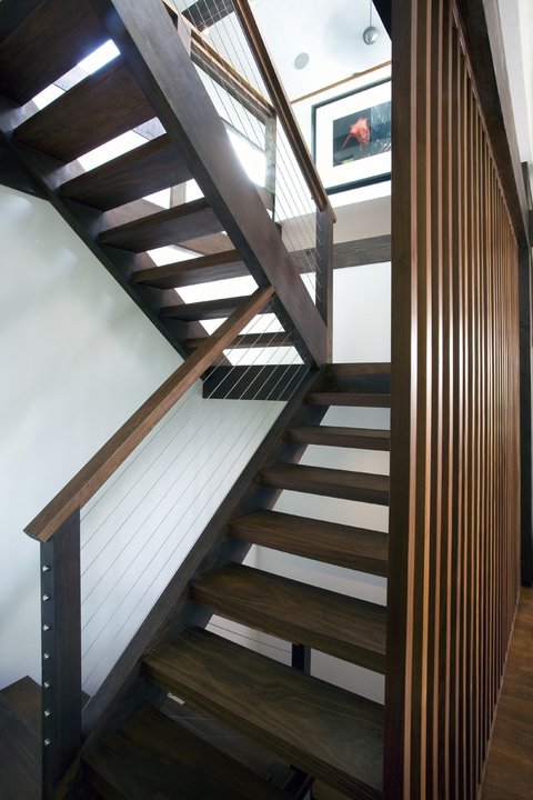 Stairs River House