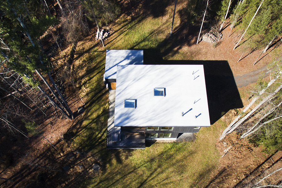Aerial Views Beaverkill House